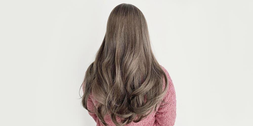 رنگ مو دودی نسکافه ای