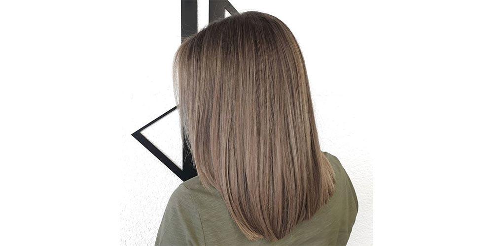 ترکیب رنگ موی دودی کاراملی