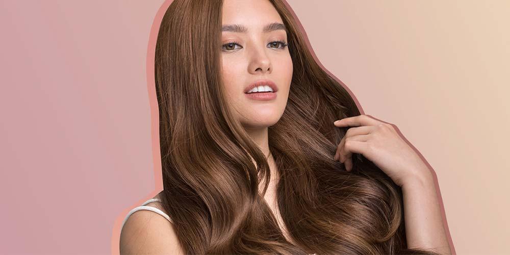 ترکیب رنگ مو دودی گردویی